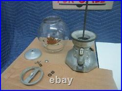 Vintage Bluebird Penny Operated Gumball Machine
