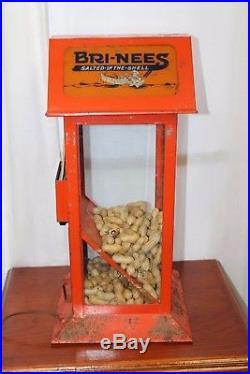 Vintage Bri-Ness Peanut Roaster Warmer Display