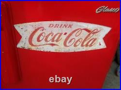 Vintage COCA-COLA Coke Machine Glasco GBV-50 Coke Collectible. Works