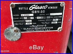 Vintage COCA COLA Pop Machine Glasco GBV-50 Coke Collectible Old Collect 10 CENT