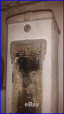 Vintage Candy King Gum Peanut Machine Dispenser General Store Man Cave Antique