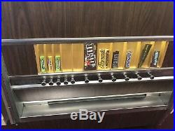 Vintage Candy Vending Machine Pull Style 60s Display Prop Man Cave