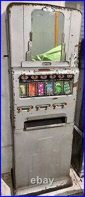 Vintage Candy Vending Machine, Stoner MFG, All Original, Working With Key