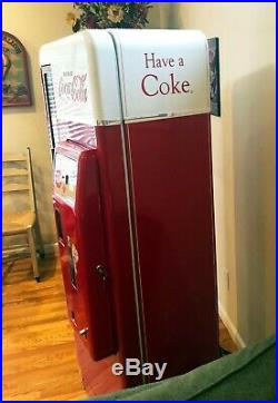 Vintage Cavalier 96 1960s Coca-Cola Vending Machine