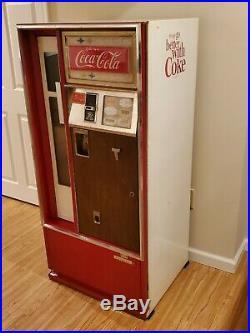 Vintage Cavalier Coke Machine Mid Century Modern Atomic Age