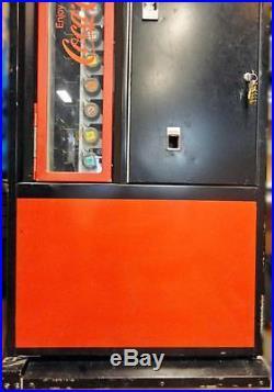 Vintage Cavalier Mfg. GENUINE Coca-Cola Can & Bottle Dispensing Vending Machine