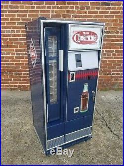 Vintage Cheerwine Coca Cola Coke Drink Bottle Soda Machine Cooler Lighted Sign