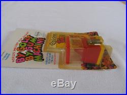 Vintage Chiclets World's Smallest Mini Gum Machine 1981 Galoob MOC Rare