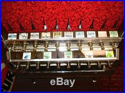 Vintage Cigarette Machine NATIONAL VENDORS Crown Line 800
