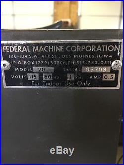 Vintage Cigarette Machine Vending machine