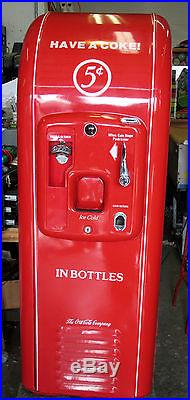 Vintage Coca Cola COKE JACOBS Vending MACHINE Original Works perfectly