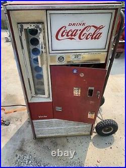 Vintage Coca Cola Coke Bottle Soda Machine Vendo Model H63 A