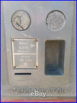 Vintage Coca Cola Coke Machine Vendorlator 242 Very Rare Dime 10 cent Works