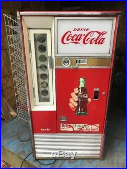 Vintage Coca-Cola Coke Vending Machine Vendo Co. Model Number H63 A