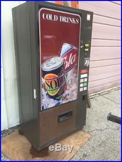 Vintage Coca Cola Coke Vendo Model 01F-4708XA Can Soda Pop Vending Machine, 4.5