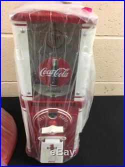 Vintage Coca Cola Inspired Vending Gumball/Peanut Machine (Fully Restored)
