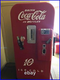 Vintage Coca Cola Machine Vendo 39 Antique 10 cent