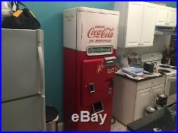 Vintage Coca Cola Metal Souvenir Vending Machine Vendo 1950s Sold As Is