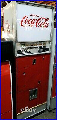 Vintage Coca-Cola Vending Machine by Westinghouse for Parts Only