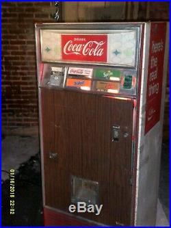 Vintage Coca-Cola Vending Machine from 60's by Vendo
