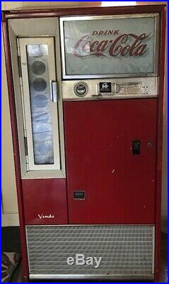 Vintage Coca-Cola Vending Machine from 60s by Vendo