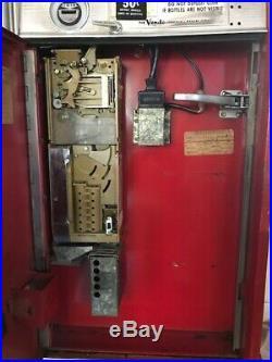 Vintage Coca-Cola Vending Machine from 60s by Vendo