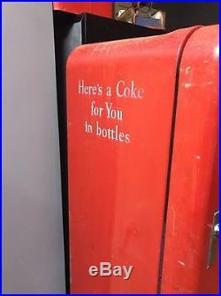 Vintage Coca Cola Vendo 110 Machine Coin Operated Pepsi 7up Rare