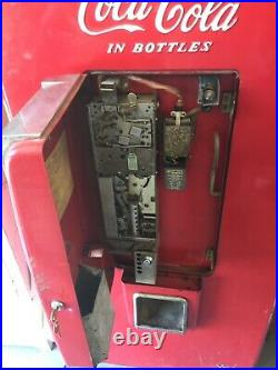 Vintage Coca Cola Vendo 80 V-80 Soda Vending Machine Survivor Patina Rare
