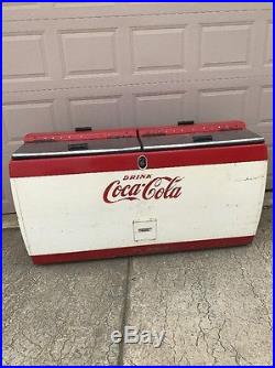 Vintage Coca Cola Westinghouse Wh22t Ice Chest Cooler! Indiana 7up Pepsi