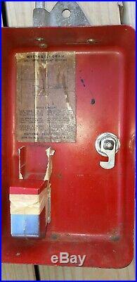 Vintage Coca Cola penny box for coke vending machine