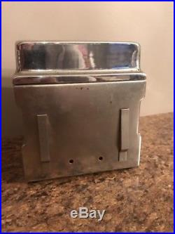 Vintage Coin Operated Ask Yogi Madam X Napkin Dispenser Machine Diner Rare