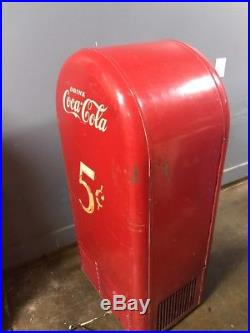 Vintage Coin Operated Coca Cola Jacobs 26 Vending Machine Pepsi 7up Coke Rare