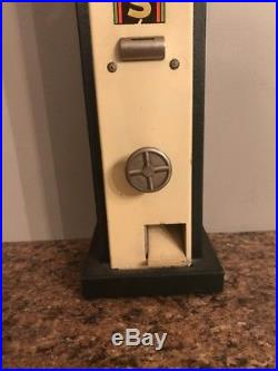 Vintage Coin Operated Hersheys Chocalate Bars Vending Machine Penny Operated