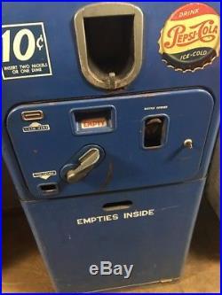 Vintage Coin Operated Pepsi VMC 27b Vending Machine Coca Cola 7up Coke Rare