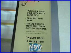 Vintage Cointronics Ball Walk Game Bar Trade Stimulatoer Arcade Rare