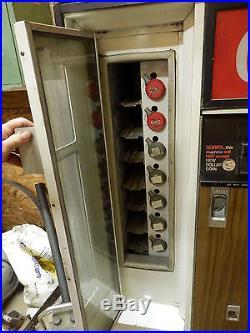 Vintage Coke Coca Cola Cavalier CSS-64 CSS-96G Soda Vending Machine