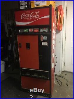 Vintage Coke Coca Cola Machine 70s 80s