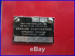 Vintage Coke Cola Cavalier Soda Bottle Vending Machine Upright. #4