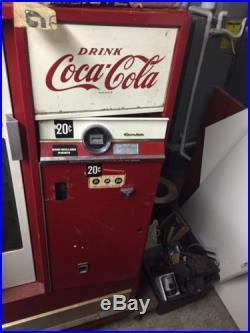 Vintage Coke Cola Cavalier Soda Bottle Vending Machine Upright. #4