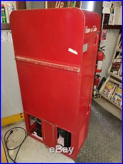 Vintage Coke Cola Soda Machine VMC Vendo 27 Like 33 Original Paint Rewire