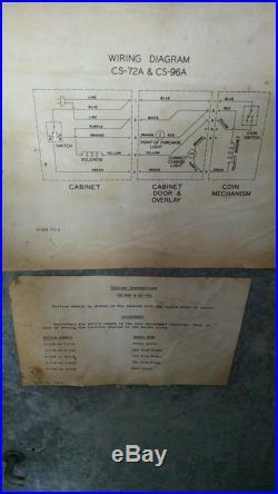 Vintage Coke Machine Cavalier C72-RESTORED