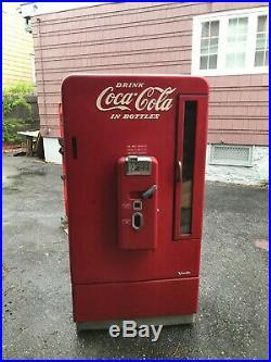 Vintage Coke Machine Vendo v-110 & v-81