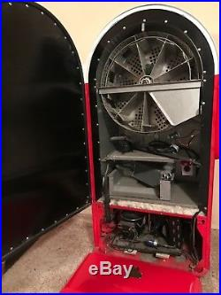 Vintage Coke Machine by Jacobs, completely refurbished ext & motor