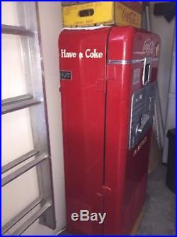 Vintage Coke Machine model 27A Unrestored