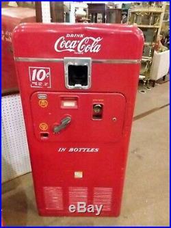 Vintage Coke Vending Machine 1953 Local Pick-Up