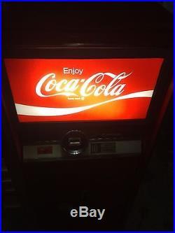 Vintage Coke Vending Machine Calviler Vendo Custom Restored