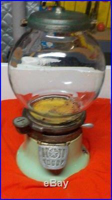 Vintage Columbus Penny Gumball Machine