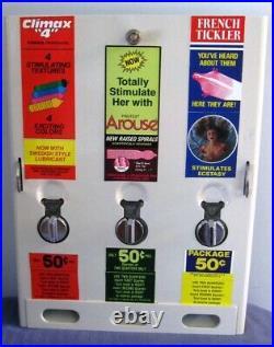 Vintage Compact Condom Vending Machine