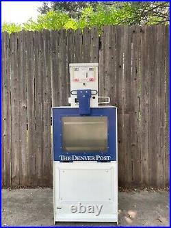 Vintage Denver Post Newspaper Vending Machine