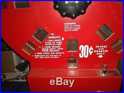 Vintage Dial-A-Smoke Cigarette Vending Machine